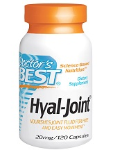 Doctor's Best Hyal Joint 20 mg Review
