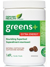 Genuine Health Greens+ Extra Energy Supplement Review