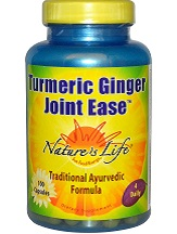 Nature's Life Turmeric Ginger Joint Ease Review