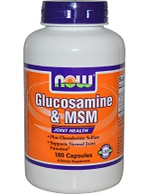 Now Foods Glucosamine and MSM Supplement Review