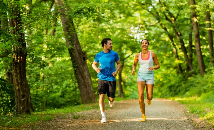 the effect of jogging on the Get your running shoes on a new study finds that jogging for 30 to 40  [a  couple jogging]  the effects of aging: can they be reversed.